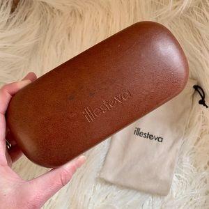 Illesteva Sunglasses Case with Dustbag